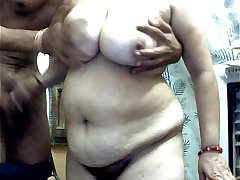 Me and my hubby 1st time on cam